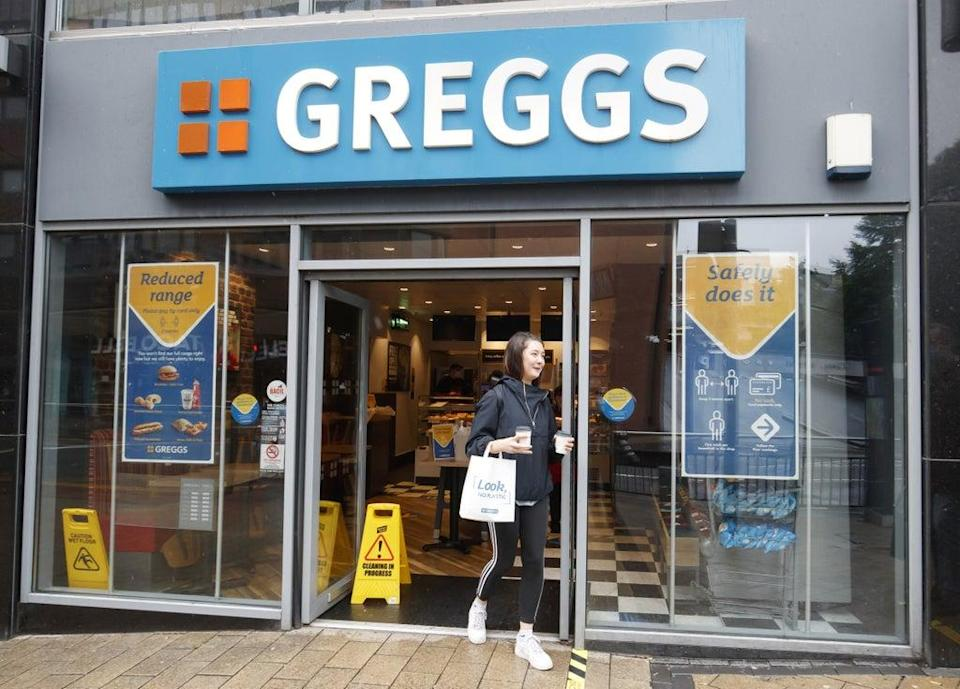 Greggs warned it has faced disruption from labour availability and product shortages (Danny Lawson/PA) (PA Wire)