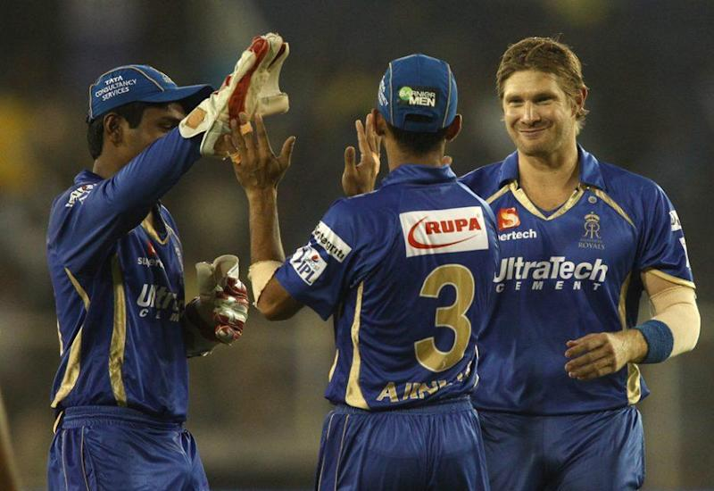 Shane Watson was the third foreign player to take an IPL hat-trick