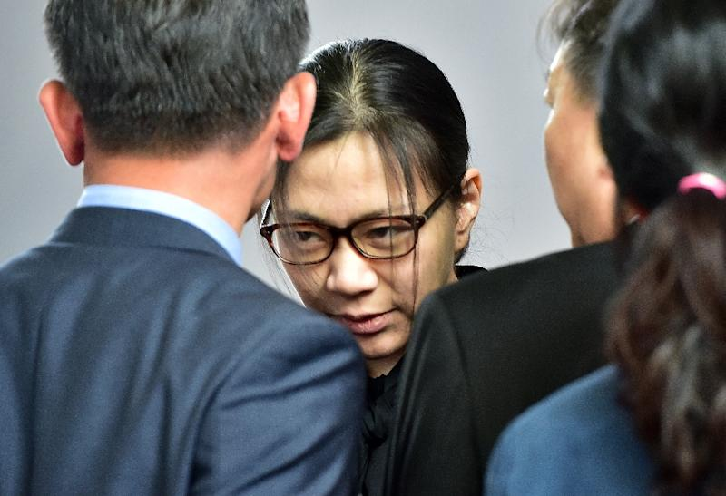 "Former Korean Air executive Cho Hyun-Ah known for a ""nut rage"" tantrum that sparked national uproar was summoned for questioning for illegally hiring immigrants to work as maids, the latest scandal to engulf her billionaire family"