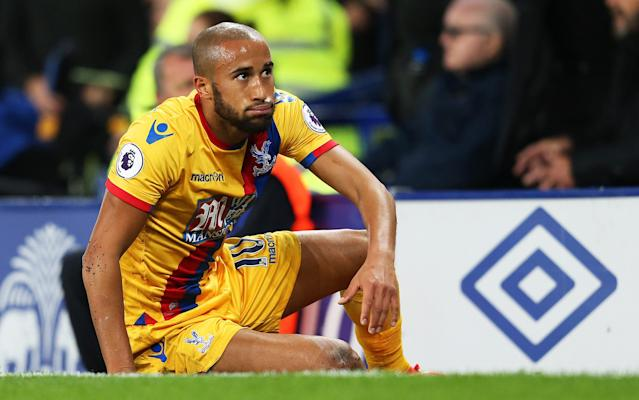 <span>Andros Townsend served a four-match ban for betting offences in 2013</span> <span>Credit: Rex Features </span>