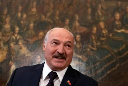 Belarus's President Alexander Lukashenko in Vienna -- it's his first visit to an EU country in more than three years