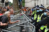 As anti-lockdown protesters staged another demonstration in London against the existing restrictions, Health Secretary Matt Hancock announced his resignation