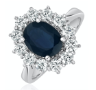 "<p>Similar in style to the engagement ring given to the Duchess of Cambridge, the Diamond Store's blue sapphire stone is framed by dazzling diamonds, set on a white-gold band.</p><p>£2,749, the Diamond Store</p><p><a class=""link rapid-noclick-resp"" href=""https://www.thediamondstore.co.uk/sapphire-230ct-and-diamond-100ct-18k-white-gold-ring-p18065c907.cfm"" rel=""nofollow noopener"" target=""_blank"" data-ylk=""slk:SHOP NOW"">SHOP NOW</a></p>"