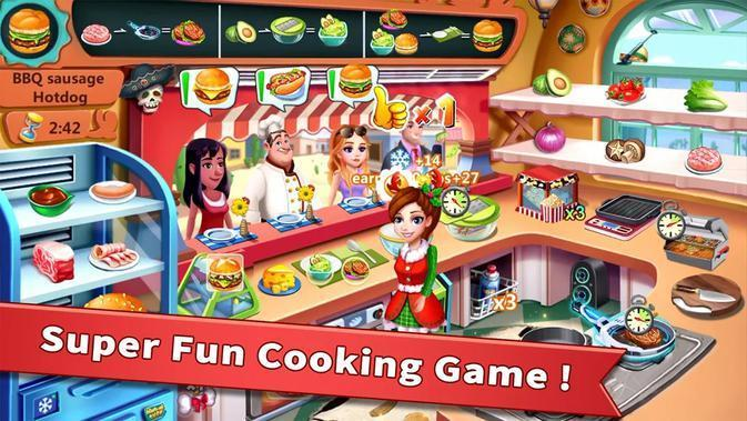 Rising Super Chef  (sumber: PlayStore)