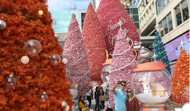 The Christmas holiday has seen a more than 50 per cent year-on-year fall in visitor arrivals. Photo: Felix Wong