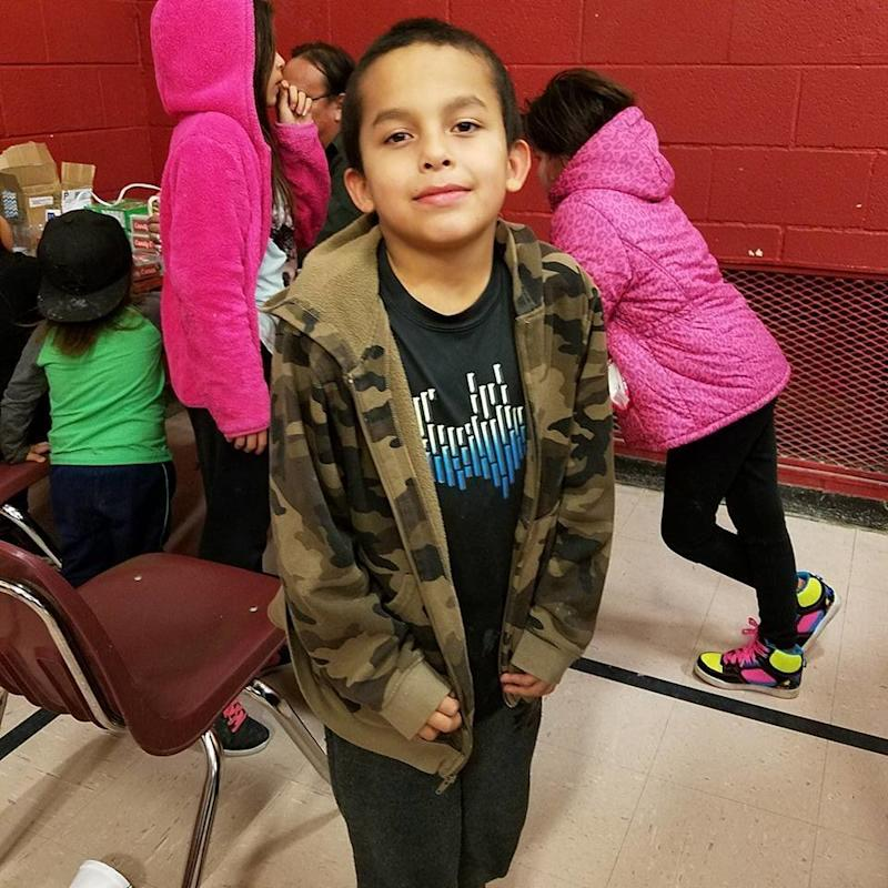 Attendance is near-perfect during the winter at the Wounded Knee District School on the Pine Ridge Indian Reservation when low-income children are desperate for a respite from the cold. At school, they're guaranteed warmth and hot meals. (Facebook/Wounded Knee School District)