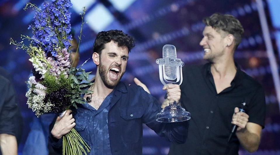 Winner Duncan Laurence was tapped as an early front-runner before the Grand Final