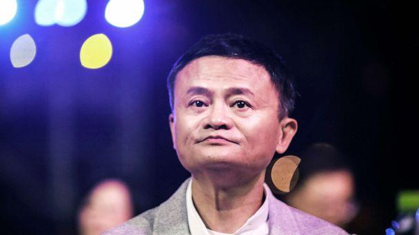 PHOTO: Founder of Alibaba Group Jack Ma presents at the 'Ma Yun Rural Teachers and Headmasters Prize' awards show on Jan. 6th, 2020 in Sanya, China. (Wang He/Getty Images, File)