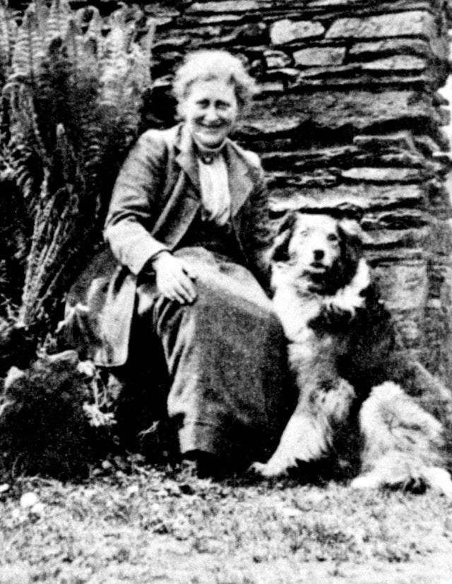 Author and illustrator Beatrix Potter