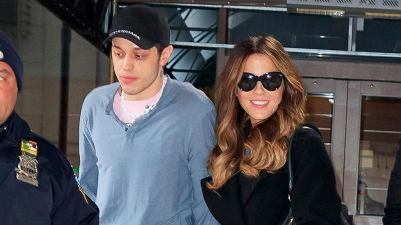 Pics! Kate Beckinsale & Pete Davidson Just Went Public with Some Serious PDA