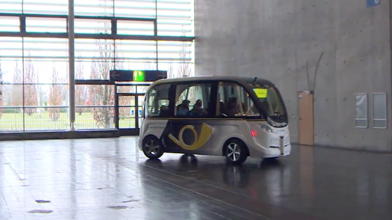 Smart Shuttle: A Fully Automated Self-Driving Vehicle