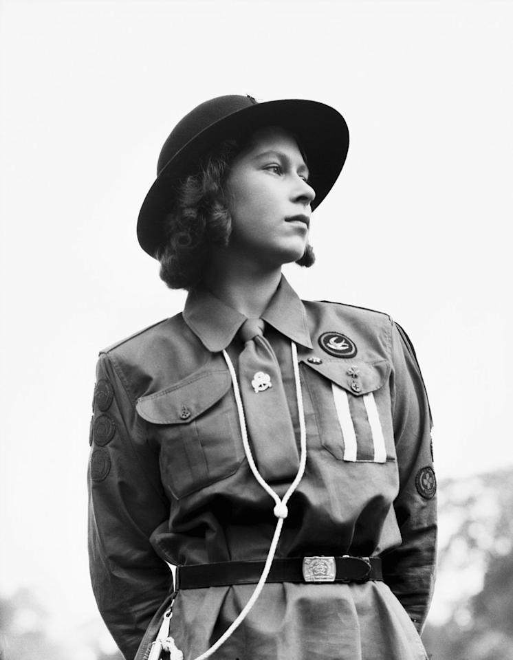 "<p>Elizabeth <a rel=""nofollow"" href=""https://www.nowtolove.com.au/royals/british-royal-family/where-did-the-british-royal-family-go-to-school-40615"">joined</a> the Auxiliary Territorial Service in 1945, where she trained to be a mechanic. She was the <a rel=""nofollow"" href=""https://www.royal.uk/queen-and-armed-forces-0"">first female member</a> of the Royal Family to join the Armed Services as a full-time active member. </p>"