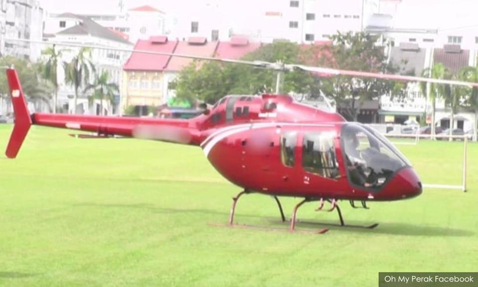 Helicopter owner behind 'nasi ganja' pick-up says papers are in order