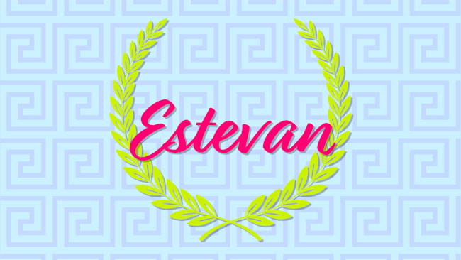 Greek baby names estevan