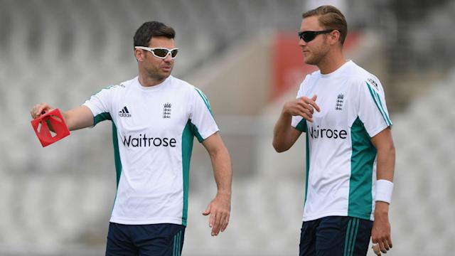 Stuart Broad and James Anderson played in the opening round of the County Championship, but have not been allowed to this week.