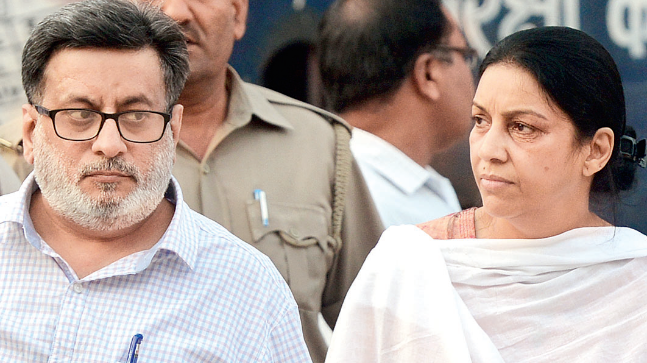 The Supreme Court (SC) on Monday issued notice to dentist couple Rajesh and Nupur Talwar on an appeal against their acquittal in 2008 double murder of their daughter Aarushi and domestic help Hemraj.