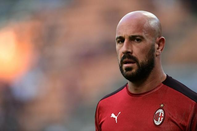 AC Milan goalkeeper Pepe Reina has joined Aston Villa on loan (AFP Photo/Miguel MEDINA)