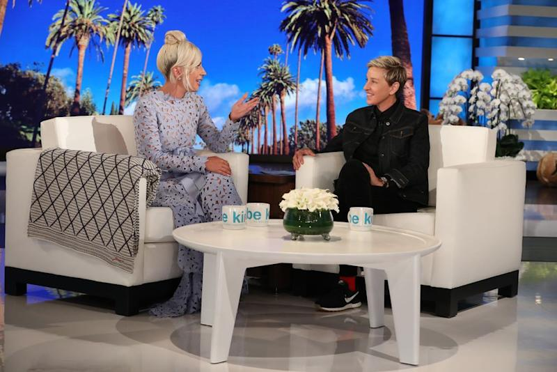 Phenomenal Lady Gaga Replaced By Ellen Degeneres In Hilarious A Star Is Ocoug Best Dining Table And Chair Ideas Images Ocougorg