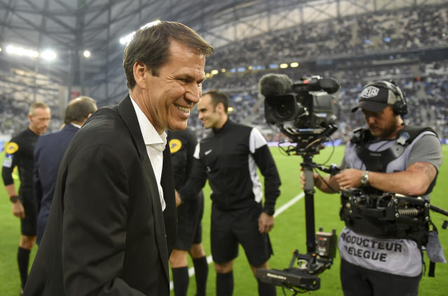 Rudi Garcia (Photo by SYLVAIN THOMAS / AFP)