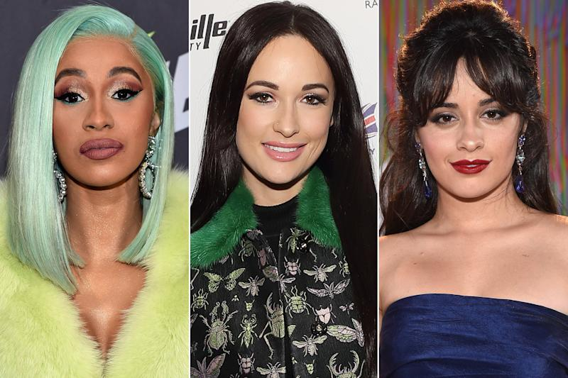 How Cardi B Kacey Musgraves And Camila Cabello All