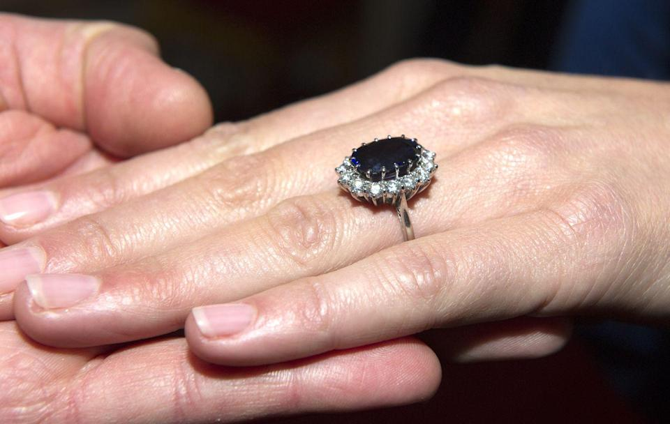 The Iconic Story Behind Kate Middleton's Engagement Ring
