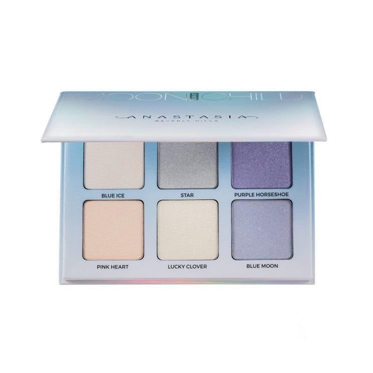 Anastasia Beverly Hills Glow Kit in Moonchild offers a variety of shades, from icy diamond highlights to frosty blues. (Photo: Anastasia Beverly Hills)