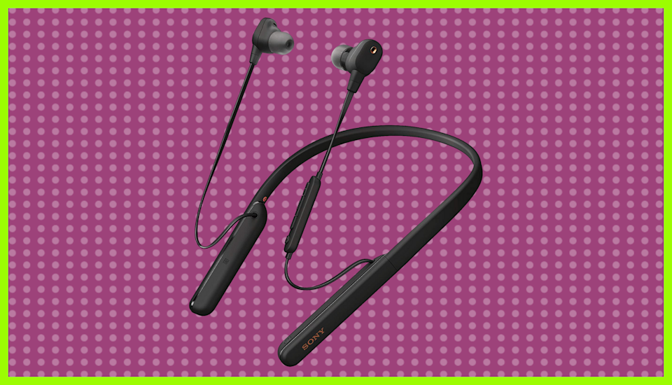 Save 34 percent on this Sony WI-1000XM2 Noise Canceling Wireless Behind-Neck In-Ear Headset. (Photo: Sony)