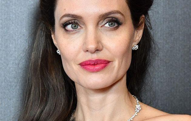Brad's estranged wife Angelina Jolie has also spoken out against Weinstein. Source: getty