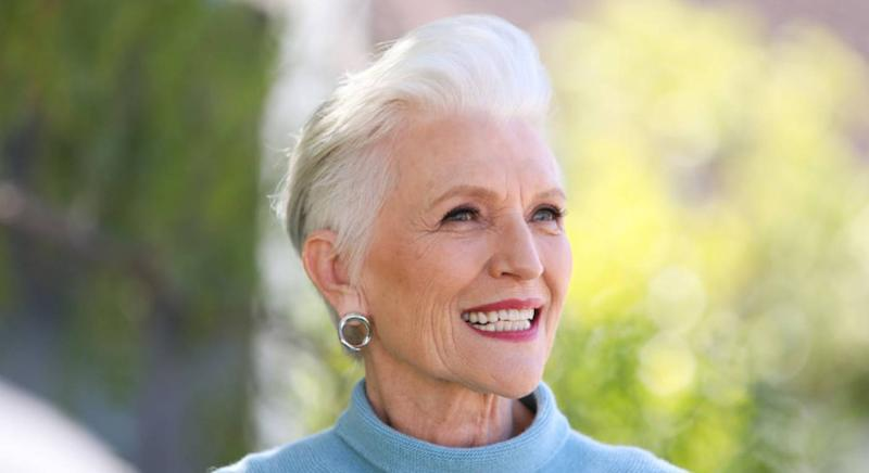 Model Maye Musk swears by this £13 moisturiser. (Getty Images)