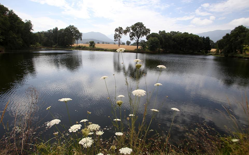 A lake in Villa Baviera or Bavaria Village, formerly known as Colonia Dignidad. Source: Getty Images