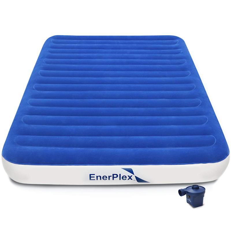 EnerPlex Never-Leak Luxury Queen Air Mattress. (Photo: Amazon)