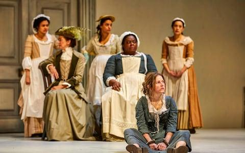 The cast of The Welkin at the National Theatre - Credit: Brinkhoff-Moegenburg