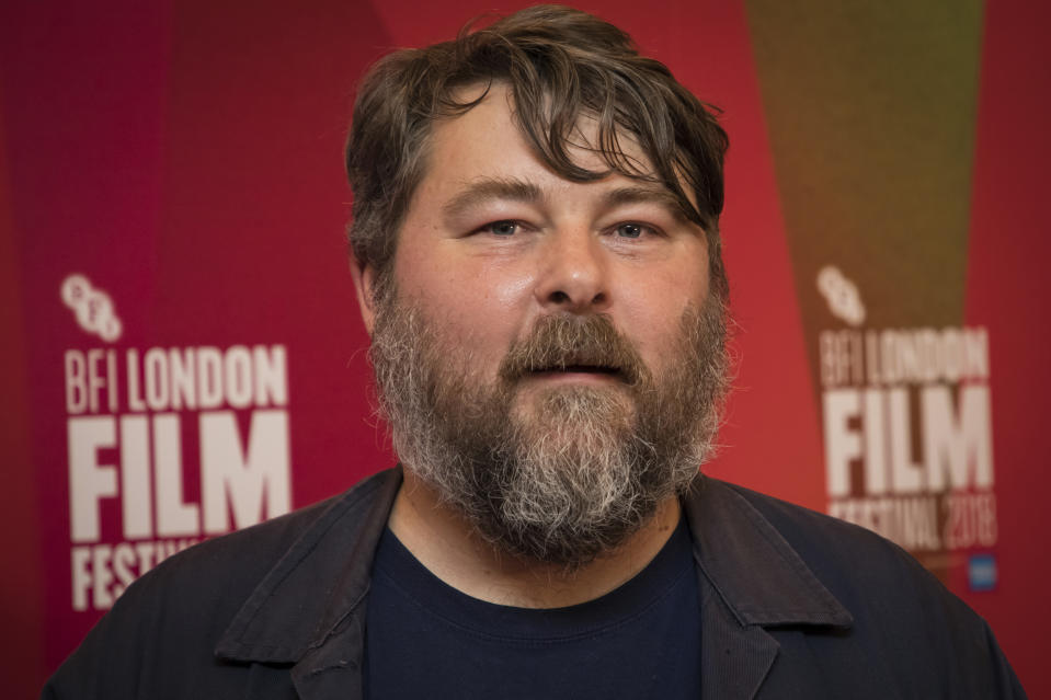 Director Ben Wheatley poses for photographers upon arrival at the screening of the film 'Happy New Year, Colin Burstead' showing as part of the BFI London Film Festival in London, Thursday, Oct. 11, 2018. (Photo by Vianney Le Caer/Invision/AP)