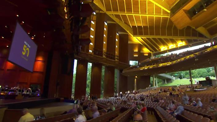 After the pandemic limited its performance schedule to streaming options, Wolf Trap will soon welcome back audiences at full capacity. / Credit: CBS News