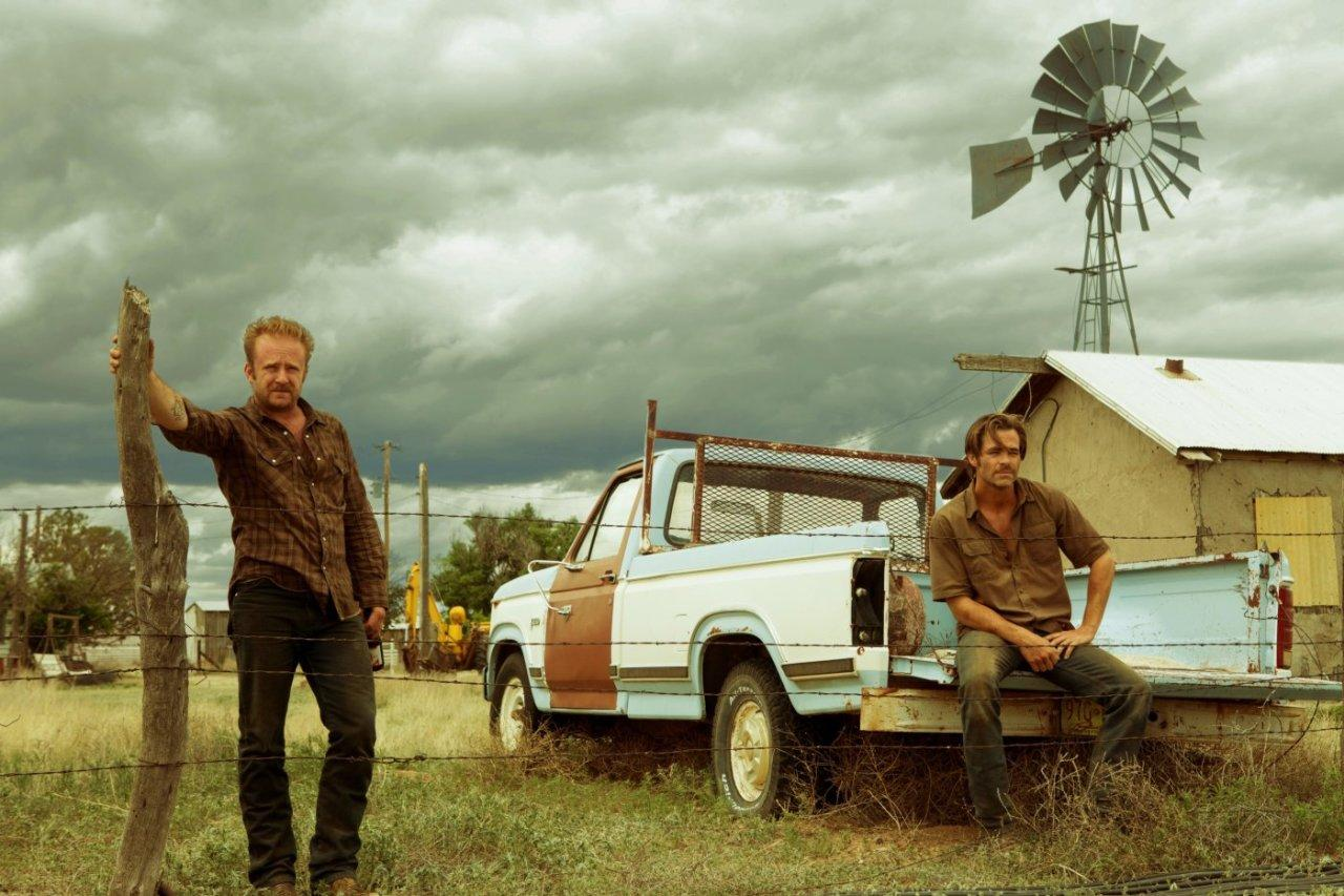 <p>This critically-lauded modern western finds Texan brothers Chris Pine and Ben Foster robbing branches of the bank threatening to foreclose on their family's land, pursued by Jeff Bridges' cop on the eve of his retirement. Out from September 9.</p>