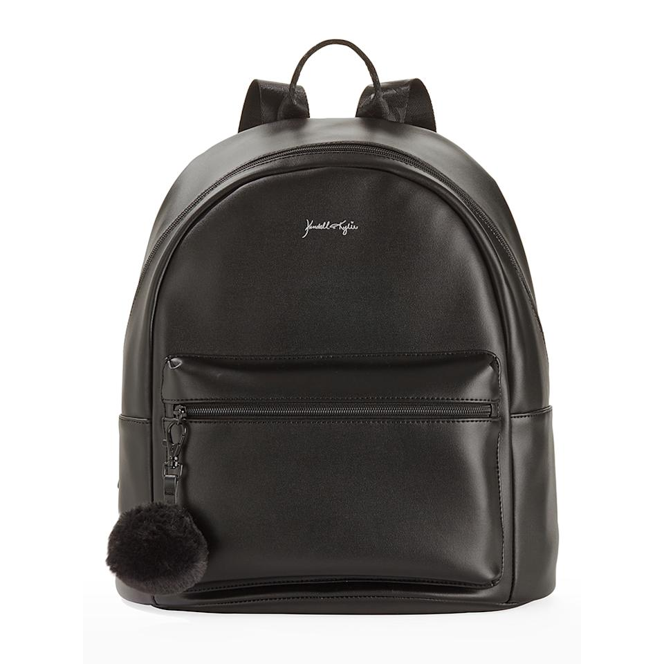 """<p>The trendy teen will love this stylish faux-leather backpack from Kendall and Kylie's Walmart collection. It's roomy enough to wear to school or to use for those long weekend travels.<br /><strong><a rel=""""nofollow"""" href=""""https://fave.co/2QttedB"""">Shop it</a>:</strong> $26, <a rel=""""nofollow"""" href=""""https://fave.co/2QttedB"""">walmart.com</a> </p>"""