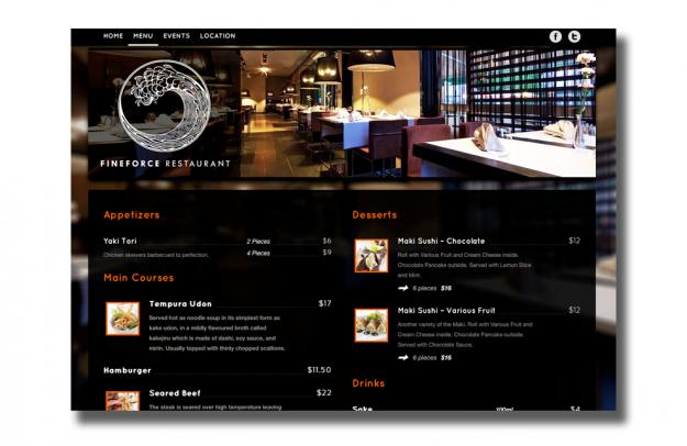 Happy Tables: The cure for bad restaurant websites