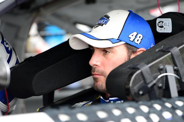 Jimmie Johnson isn't worried about needing to notch a race win anytime soon