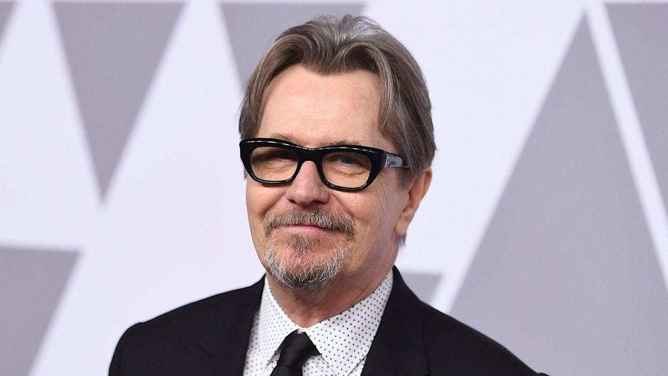 Mandatory Credit: Photo by Jordan Strauss/Invision/AP/Shutterstock (11303616a)Gary Oldman arrives at the 90th Academy Awards Nominees Luncheon in Beverly Hills, Calif.