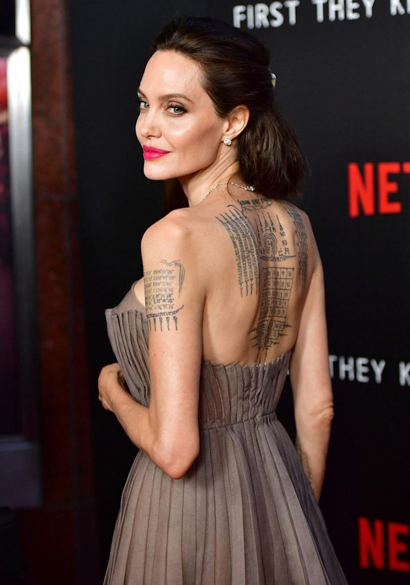 Angelina Jolie stepped out at the First They Killed My Father premiere in New York this week. Source: Getty