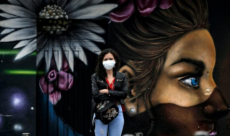 Colombia is in lockdown over the deadly COVID-19 coronavirus pandemic (AFP Photo/Juan BARRETO)