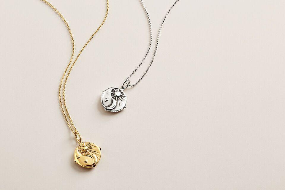 """<p><strong>Kendra Scott</strong></p><p>kendrascott.com</p><p><strong>$78.00</strong></p><p><a href=""""https://go.redirectingat.com?id=74968X1596630&url=https%3A%2F%2Fwww.kendrascott.com%2Fmental-health.html&sref=https%3A%2F%2Fwww.oprahdaily.com%2Flife%2Fg36465535%2Fmental-health-awareness-gifts-that-give-back%2F"""" rel=""""nofollow noopener"""" target=""""_blank"""" data-ylk=""""slk:SHOP NOW"""" class=""""link rapid-noclick-resp"""">SHOP NOW</a></p><p>The sun and moon motif is meant to serve as a comforting reminder that there is light and darkness within all of us. Half of the proceeds from these charms will go to the <a href=""""https://www.nami.org/Home"""" rel=""""nofollow noopener"""" target=""""_blank"""" data-ylk=""""slk:National Alliance on Mental Illness"""" class=""""link rapid-noclick-resp"""">National Alliance on Mental Illness</a> (NAMI) and <a href=""""https://www.activeminds.org/about-mental-health/var/"""" rel=""""nofollow noopener"""" target=""""_blank"""" data-ylk=""""slk:Active Minds"""" class=""""link rapid-noclick-resp"""">Active Minds</a>, two organizations that provide mental wellness support. </p>"""