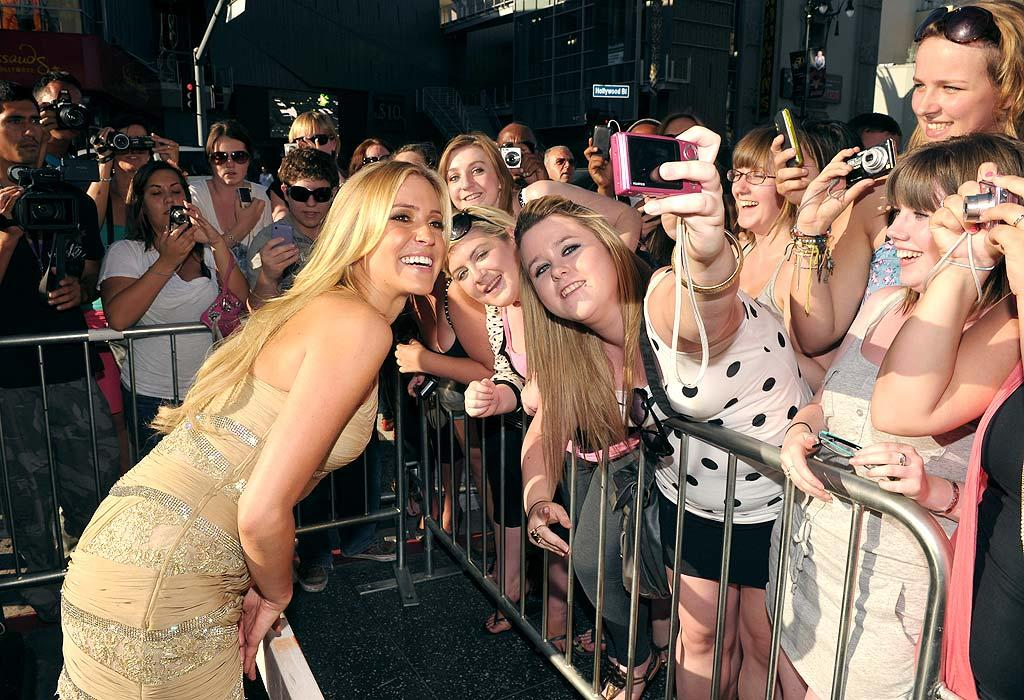 "A smiling Kristin leaned over the barricade separating the reality stars from reality to pose for photos with her adoring fans. John Shearer/<a href=""http://www.gettyimages.com/"" target=""new"">GettyImages.com</a> - July 13, 2010"