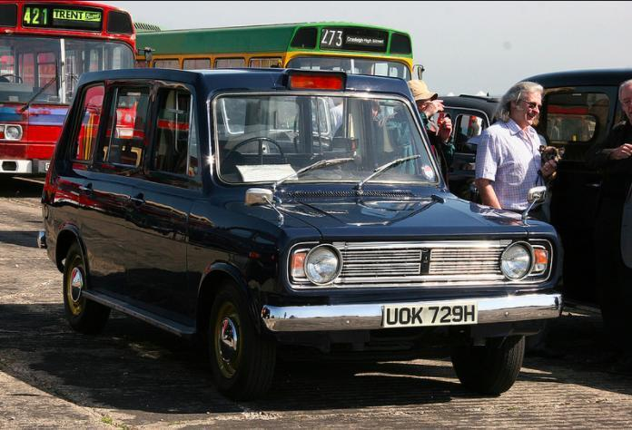 Taxi! Metrocab prototype number one up for grabs