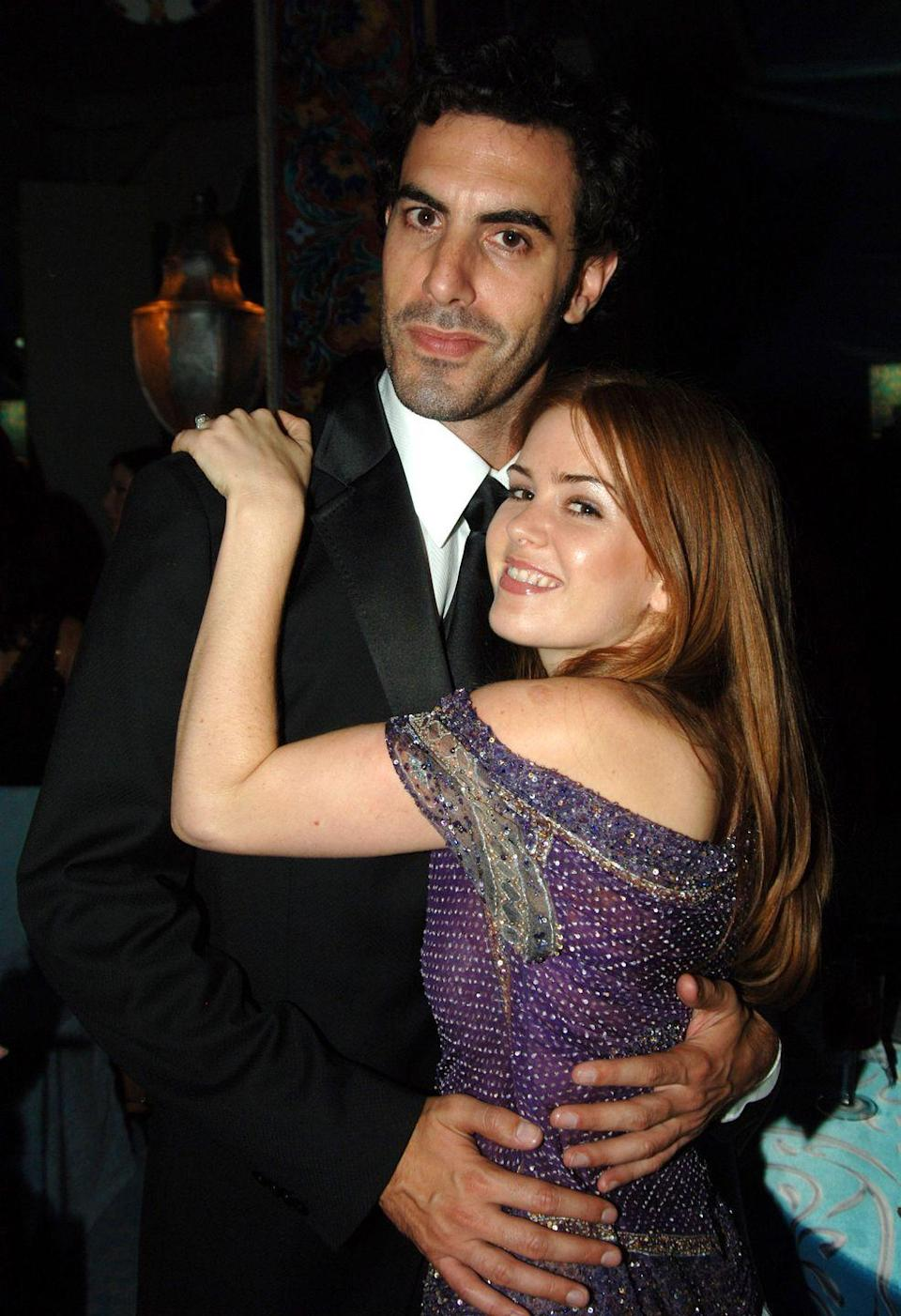<p>Baron Cohen and Fisher met in 2002 and married in 2010 after Fisher converted to Judaism. They have three children together. </p>