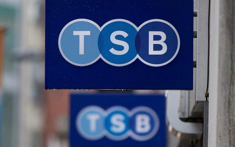 TSB closes hundreds of branches