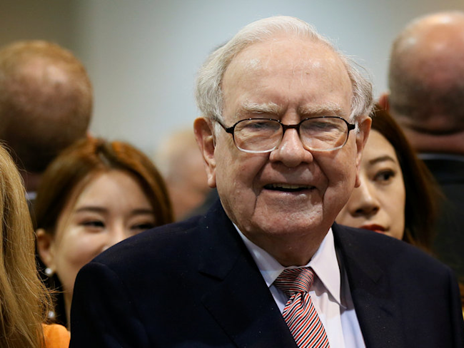 Warren Buffett's Berkshire Hathaway just made a big bet on real estate