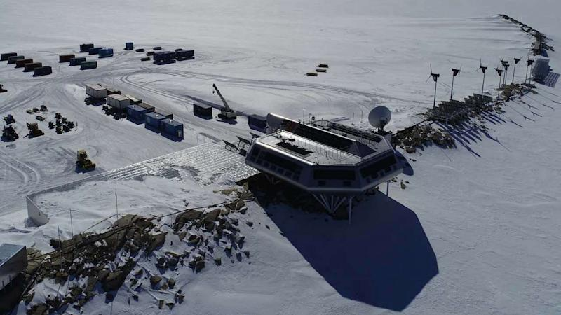 The Princess Elisabeth Antarctica Research Station. James Linighan, Author provided