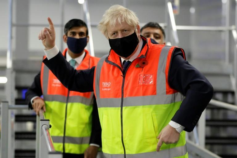 Britain's Prime Minister Boris Johnson says he's as 'fit as a butcher's dog'