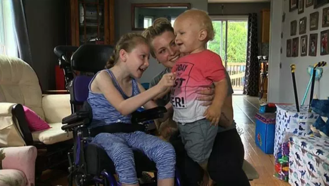 Hero 9-year-old girl alerted her family about little brother falling in the pool. (Photo: CBS 6)